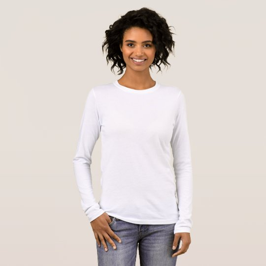 Bella+Canvas Long Sleeve T-Shirt, White
