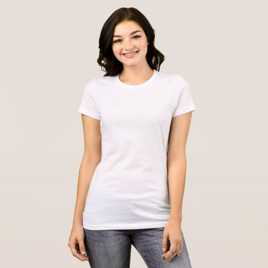 Women's Bella+Canvas favourite Jersey T-Shirt, White