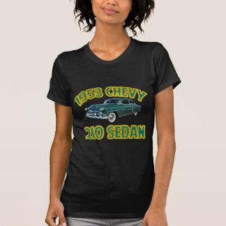 Women's Black 1953 Chevy 210 T Shirts