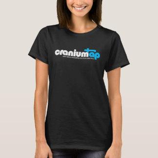 Women's Black CraniumTap T-Shirt