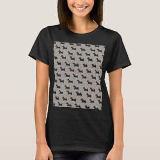 Women's Black Terrier Tee