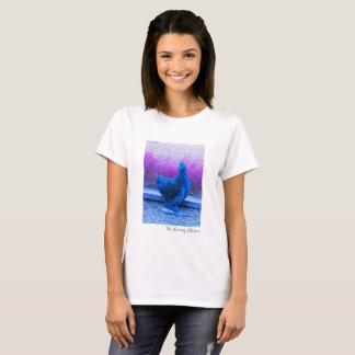 Women's Blue Rooster T-Shirt