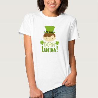 Women's Born Lucky T-shirt