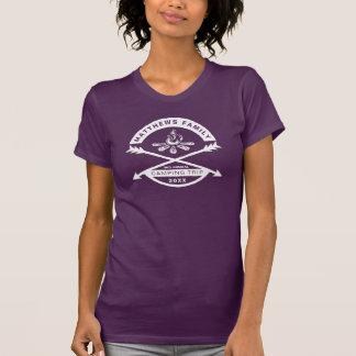 Women's Camping Trip Reunion Shirt | White Design
