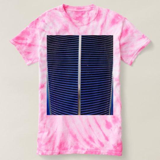 Women's car grille tie dye t-shirt
