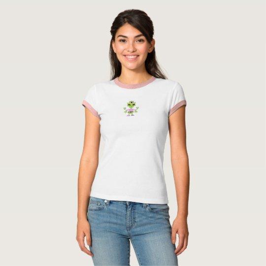 Women's Cartoon Alien T-shirt