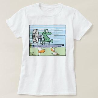 Women's Cartoon Crocodile Shirt