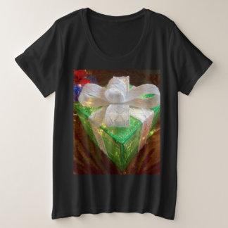 Women's Christmas present shirt