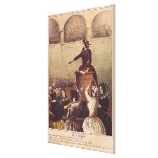 Women's Club, c.1848 Stretched Canvas Prints