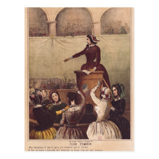 Women's Club, c.1848 Postcard