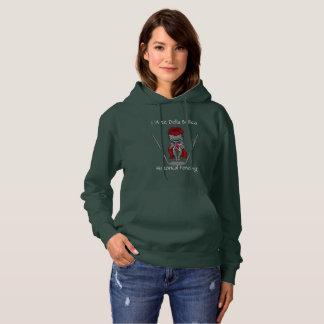 Women's club themed hoodie