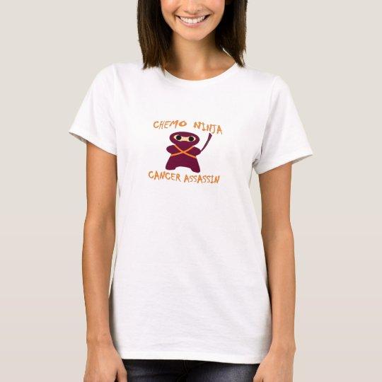 Womens Colours Chemo Ninja T-Shirt