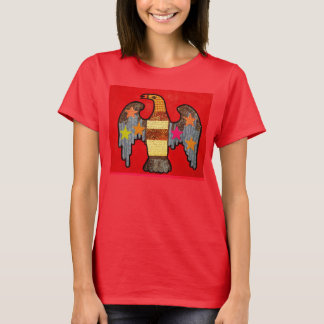Women's Comfort T-Shirt with Bold Eagle