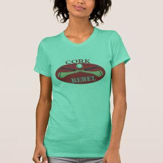 Womens Cork Rebels Tee Shirt