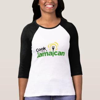 Women's Cotton Baseball-Style T-Shirt