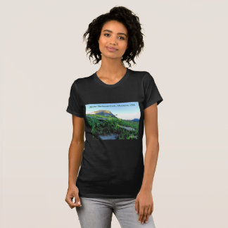 Women's Crew Neck Glacier National Park T-Shirt