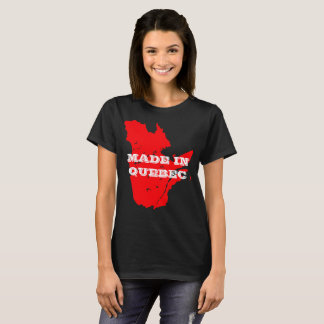 Women's Customizable Made in Quebec T-Shirt