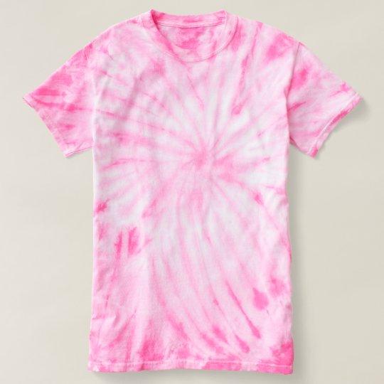 Women's Cyclone Tie-Dye T-Shirt, Pink