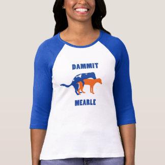 Women's Dammit Mearle Baseball Tee