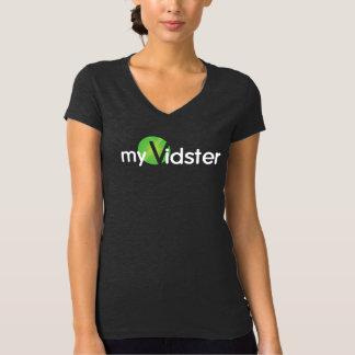 Women's dark grey myVister t-shirt