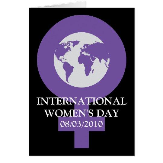 Women's Day Card