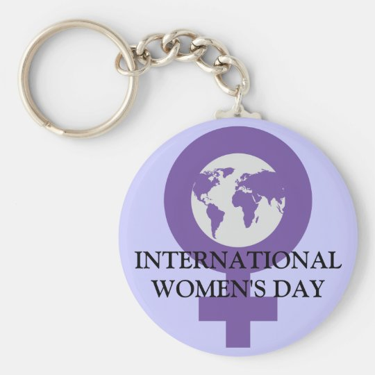 Women's Day Keychain