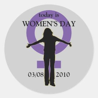 Women's Day Silhouette Sticker