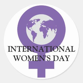 Women's Day Sticker