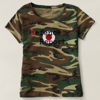 Women's DefenceReport Camo Short-Sleeve T-Shirt