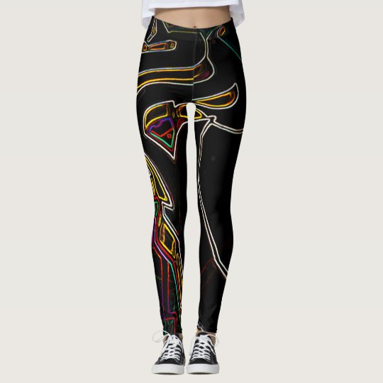 Women's Designer Fashion Leggings/Yoga Pants