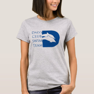 Women's Dolphin T-shirt, Grey T-Shirt
