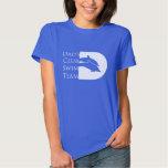 Women's Dolphin T-shirt, Royal Tee Shirt