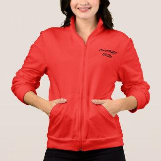 Women's Dressage Fleece Zip Jogger Jacket