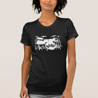 Womens Drum Set T-Shirt