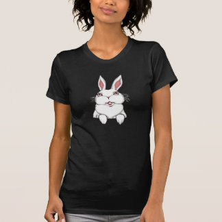 Women's Easter Shirt Pocket Bunny Shirt Tee