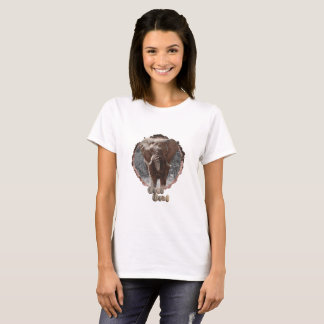 Womens elephant t-shirt. T-Shirt