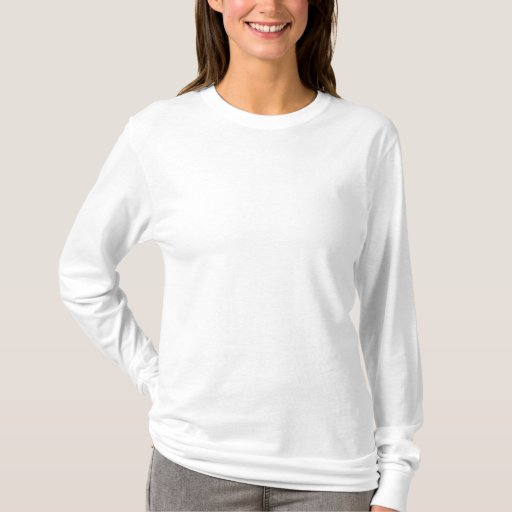 White Embroidered Ladies Long Sleeve