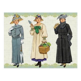 Womens Everyday Fashions Postcard