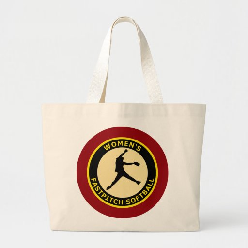 WOMEN'S FASTPITCH SOFTBALL CANVAS BAGS