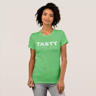 """Women's Fine Jersey T-Shirt """"Tasty Woman"""""""