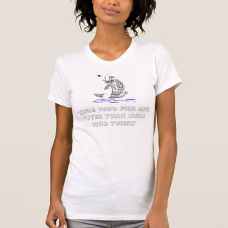 Women's fishing Tee Shirt