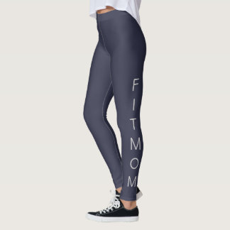 "Women's ""FITMOM"" Casual/Sport/Fitness Leggings"