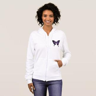 Women's Fleece Fibro Awareness Jacket