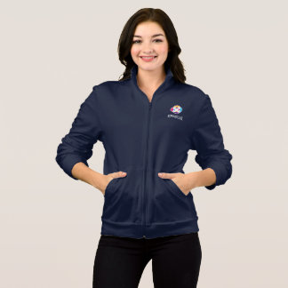 Women's Fleece Jacket in Navy