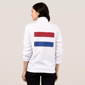 Women's  Fleece Jogger with flag of Netherlands
