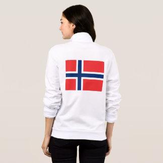 Women's  Fleece Jogger with flag of Norway