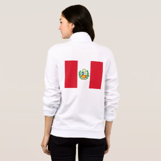 Women's  Fleece Jogger with flag of Peru