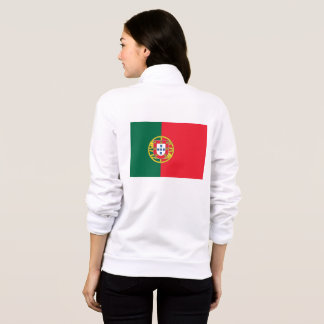 Women's  Fleece Jogger with flag of Portugal