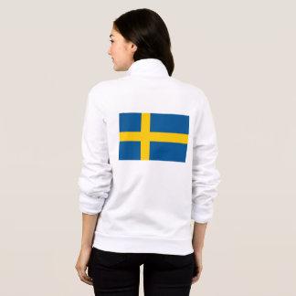 Women's  Fleece Jogger with flag of Sweden