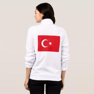 Women's  Fleece Jogger with flag of Turkey